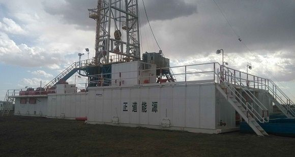 ZJ50DB Solids Control System in Tarim Oilfield