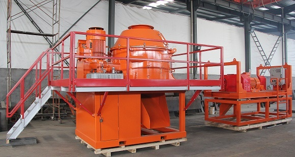 Brightway Vertical Cuttings Dryer and Decanter Centrifuge